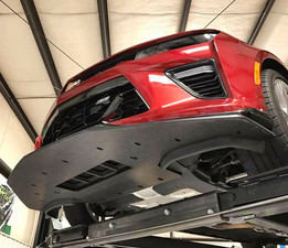 2016 Chevy Camaro SS Splitter by PSI. Underside protection is an added bonus!