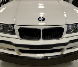 E36 BMW splitter direct front