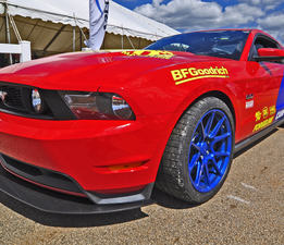 Custom Built splitter - 2012 Mustang for Grassroots Motorsports Magazine