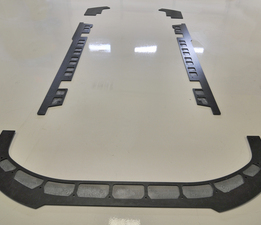 Nissan GT-R 5 piece Splitter set