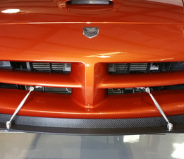 Viper Gen 3-4 direct front splitter view
