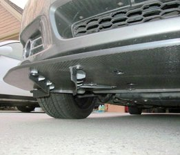 Chevy Caprice Front Splitter with Airflow Veins